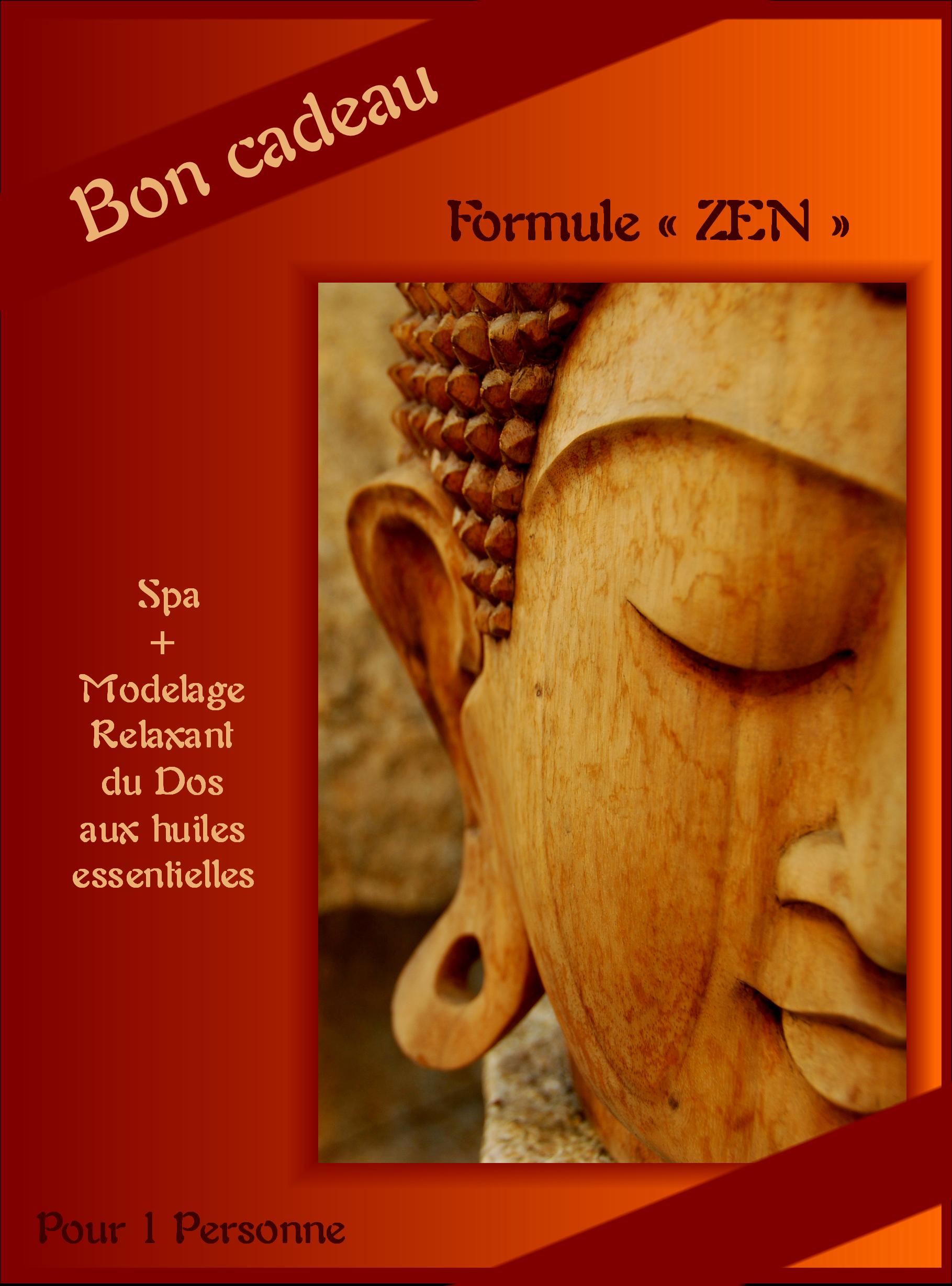 bon cadeau formule zen